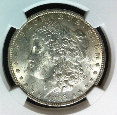 1888 O Vam 1B Ngc Ms 61 Morgan Silver Dollar~Gene L Henry Legacy Collection