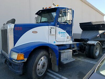 Dump Truck Day Cab And Double Bottom Trailers