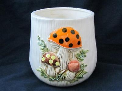 Vintage Merry Mushroom Sears Robuck And Co 1976 Made In Japan Pot Canister
