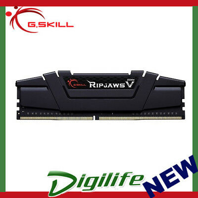 G.Skill DDR4-3200 16GB Single Channel [Ripjaws V] F4-3200C16S-16GVK