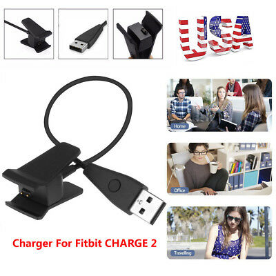 USB Charging Cable Cord Wire Charger For Fitbit CHARGE 2 Activity Wristband