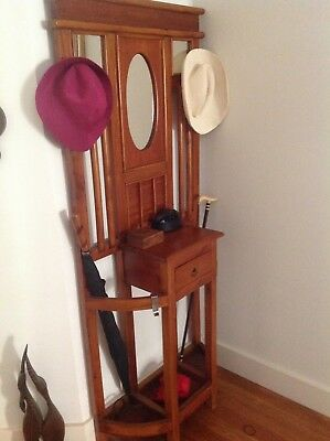 hall and hat stand. Reduced to sell