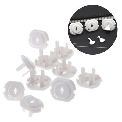 10 pcs Australia Standards Power Socket Outlet Plug Baby Safety Protector Cover