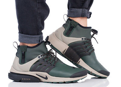 the latest 63115 786eb Nike Air Presto Mi Utility Homme Chaussures de Sport Baskets 859524-300