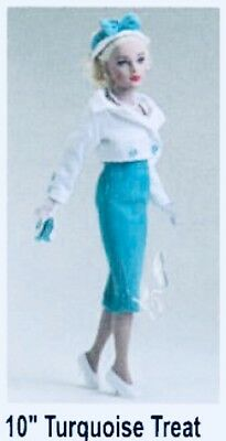 Tiny Kitty Collier- used outfit- Turquoise Treat- by Robert Tonner