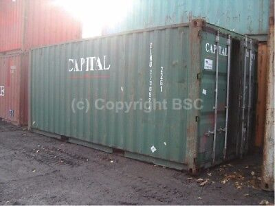 Used 20ft shipping containers Manchester. Ideal for storage or export £1325+VAT