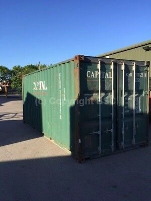 Used 20ft shipping containers in Birmingham. Ideal storage and export £1375+VAT
