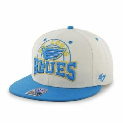 low priced 0bf4b b170f 47 Brand Official NHL St Louis Blues Snapback Cap, One Size Fits All