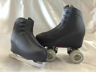 Gunmetal Grey Boot Covers for Roller Skates/Ice Skates SMALL  ONLY