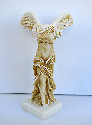 Nike of Samothrace Ancient Greek Winged Goddess of Victory square base artifact