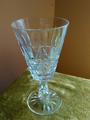 Waterford Irish cut wine glass crystal glass 5.5 inch good order