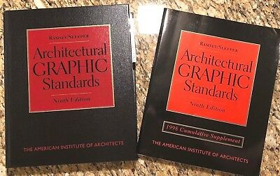 1998 Ramsey/Sleeper Architectural Graphic Standards and Supplement / Extension