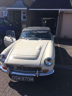 Mgb roadster 1974 convertible ex condition
