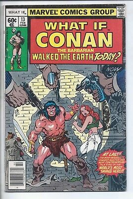 What If?  #13  Conan The Barbarian  (   Fn    )    ***** Sale!!  ***