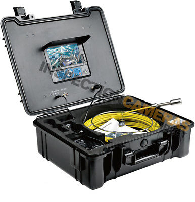 20m Recordable Drain & Duct Inspection Camera *OPTIONAL ON-SCREEN METERAGE*