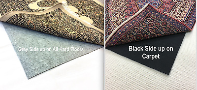 All Surface Premium German Quality RUG GRIPPER Anti Slip Underlay Many Sizes