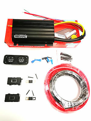 Redarc Bcdc1240D Dual Battery Isolator System Dc To Dc Mppt Install Kit - Rgfc!