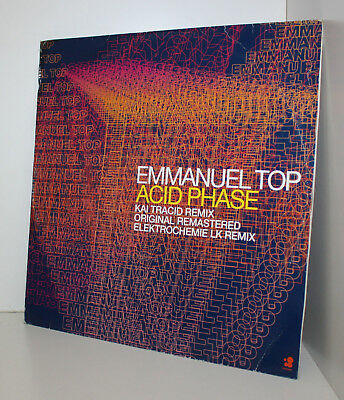 "Emmanuel Top-Acid Phase 12"" Maxi Vinyl-from Dj Set Ibiza & Mallorca-very rare"
