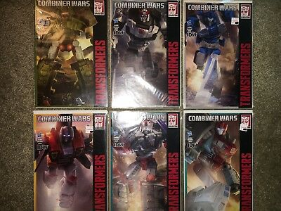 Transformers IDW Hasbro Exclusive Comic Books Combiner Wars Lot Of 13 issues