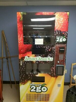 Combo Vending Machine with Credit Card Reader and Touchscreen!