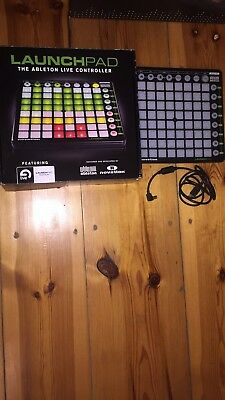 novation launchpad the ableton live controller