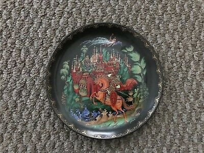 Ruslan and Ludmilla Russian Legends 1st Issue Plate Bradford Exchange 1988