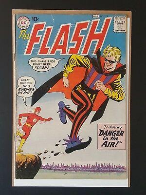 The Flash #113 1st App Of Trickster Fine 5.5 Key Issue DC Comics Rare!