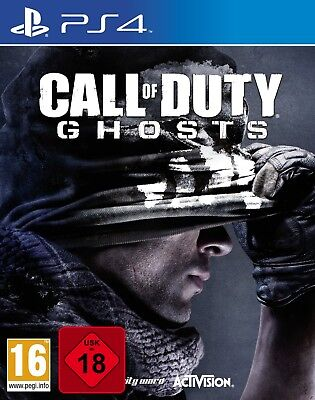 PS4 Call of Duty: Ghosts Uncut NEU&OVP Playstation 4
