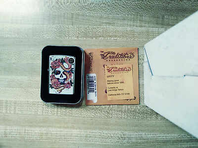 Zippo Traditions Tattoo Collection Blooming Death By Lefty Unfired 2009