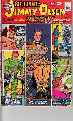 Superman's Pal Jimmy Olsen #104 (1967) Grade FN- Curt Swan Cover Cents Copy