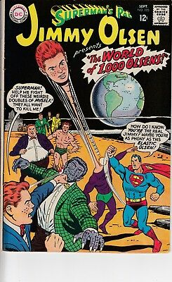 Superman's Pal Jimmy Olsen #105 (1967) Grade FN- Curt Swan Cover Cents Copy