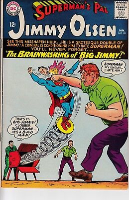 Superman's Pal Jimmy Olsen #90  - 1966 - Silver Age - Grade FN - Curt Swan Cover