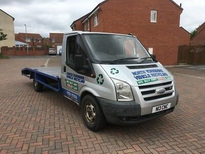 ford transit recovery truck facelift 2004 private plate included
