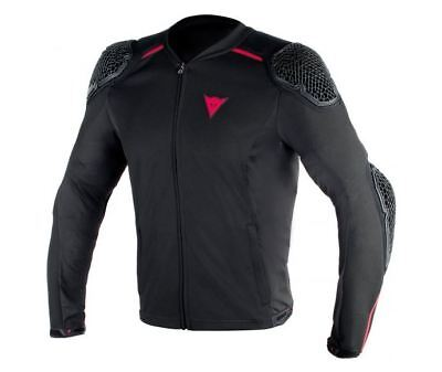 Dainese Pro Armour Mens Motorcycle Black Stretch Summer Jacket SALE