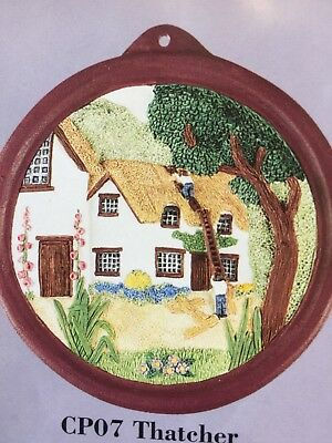 Crafts - Franklins Plaster Craft -Finely detailed plaster plaque ready to paint