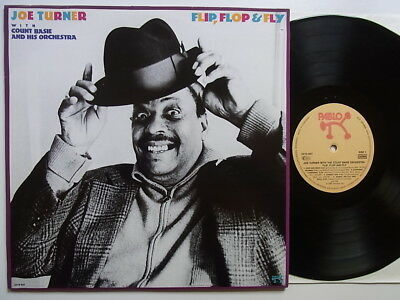 LP: Joe Turner With The Count Basie Orchestra: Flip, Flop & Fly (Pablo 2310-937)
