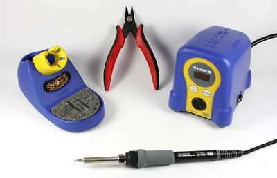 Hakko Digital FX888D & CHP170 bundle, includes Soldering Station & CHP170 cutter