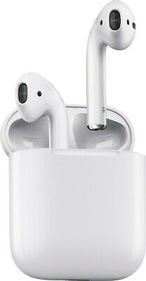 Apple AirPods Withe In-Ear Wireless Bluetooth Headsets w/Case MMEF2AM/A