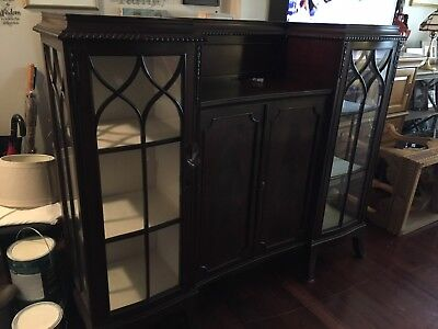 Antique hutch/buffet/sideboard/cabinet