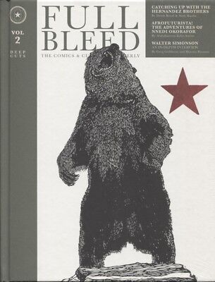 Full Bleed Comics & Culture Quarterly Hc Vol 2 Idw New/sealed