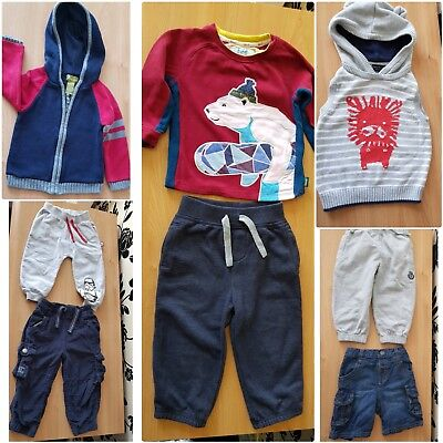 8x Baby Boy Clothes Bundle 12-18 Months Next, Ted Baker, Ladybird, Star wars