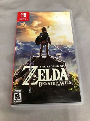 Legend of Zelda: Breath of the Wild (Nintendo Switch, 2017) MINT