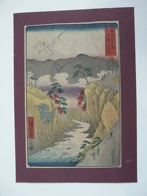 UKIYO-E Utagawa ANDO HIROSHIGE 36 VIEWS OF MOUNT FUJI
