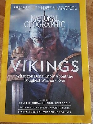 National geographic magazine - March 2017