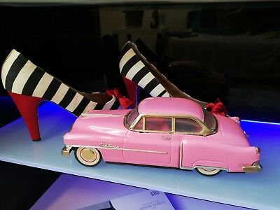 Blechauto, Pink Cadillac, Elvis the King, '50th, 1:18 ?