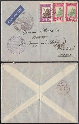 Nigeria - Airmail cover and used stamps to France ...........(5G-24535) B4470