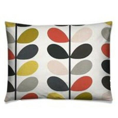 handmade cushion cover using orla kiely cushion cover multi stem tomato oblong