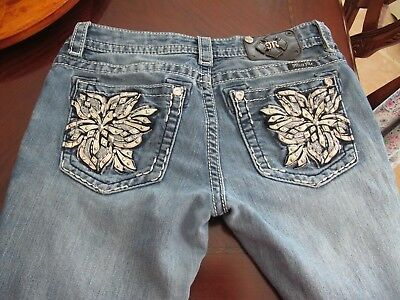 WOMENS MISS ME JEANS Size 29 Signature Boot
