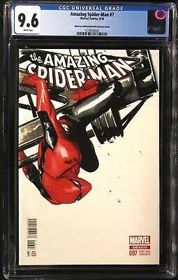 Amazing Spider-Man #7 CGC 9.6 Gabriele Dell'Ottol Mexican Edition Variant Cover!