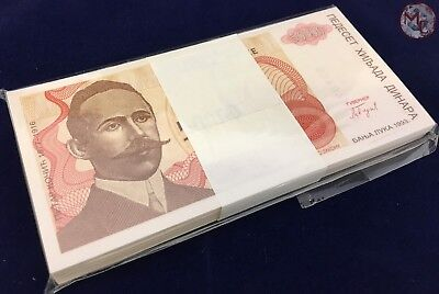Bosnia and Herzegovina- 50.000 Dinars 1993- 100 PCS- original bundle UNC- RARE